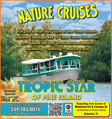 Tropic Star Cruise Boat Tours 239-283-0015 on