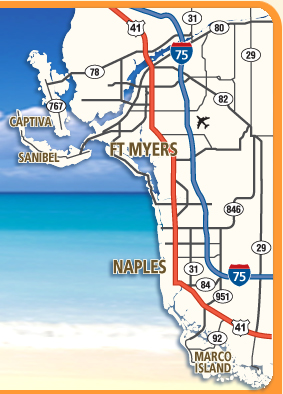 Interactive Map Of Florida.Ft Myers Florida Area Maps Interactive Southwest Florida Area Maps